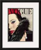 Vogue Cover - September 1959 Framed Giclee Print by Karen Radkai