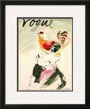 "Vogue Cover - March 1938 Framed Giclee Print by Carl ""Eric"" Erickson"