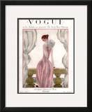 Vogue Cover - April 1923 Framed Giclee Print by Georges Lepape