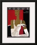 Vogue Cover - October 1931 Framed Giclee Print by Eduardo Garcia Benito