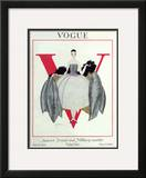 Vogue Cover - September 1920 Framed Giclee Print by Georges Lepape