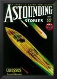 Astounding Stories - Pulp Poster, 1931 Prints