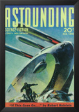 Astounding Stories - Pulp Poster, 1931 Poster