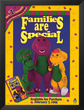 Barney: Families Are Special Prints