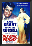 His Girl Friday Posters