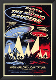 Earth vs^ the Flying Saucers Prints
