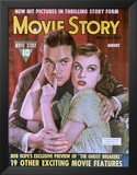 Goddard, Paulette - Movie Story Magazine Cover 1940's Poster