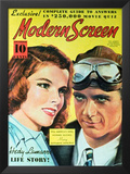 Hepburn, Katharine - Modern Screen Magazine Cover 1930's Prints