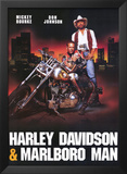 Harley Davidson and the Marlboro Man Prints