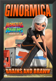 Monsters vs^ Aliens Posters