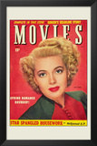 Lana Turner - Movie Magazine Cover 1930's Print
