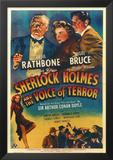 Sherlock Holmes and the Voice of Terror Print