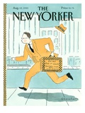 The New Yorker Cover - August 12, 1991 Regular Giclee Print by Danny Shanahan