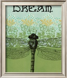Dream Dragonfly Framed Photographic Print by Ricki Mountain