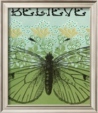 Believe Butterfly Framed Photographic Print by Ricki Mountain