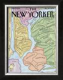 "The New Yorker Cover, ""New Yorkistan"" - December 10, 2001 Prints by Maira Kalman & Rick Meyerowitz"
