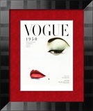 Vogue Cover - January 1950 Poster by Erwin Blumenfeld