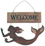Mermaids Welcome Wood Sign Wood Sign