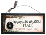 Grandparents Memory Wood Sign Wood Sign