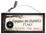 Grandparents Memory Wood Sign Wood Sign