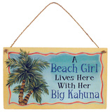 Big Kahuna Wood Sign Wood Sign