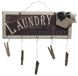 Clothespin Laundry Wood Sign Wood Sign