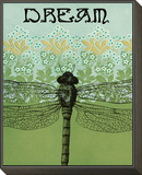 Dream Dragonfly Framed Print Mount by Ricki Mountain