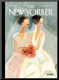 The New Yorker Cover - June 25, 2012 Mounted Print by Gayle Kabaker