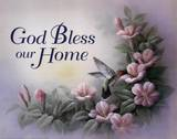 God Bless Our Home Prints by T. C. Chiu