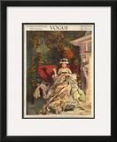 Vogue Cover - March 1913 Framed Giclee Print by F.x. Leyendecker