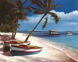 Two Boats Prints by T. C. Chiu