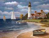 Lighthouse II Posters by T. C. Chiu