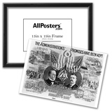 James A. Garfield (Campaign Poster) Art Poster Print Posters