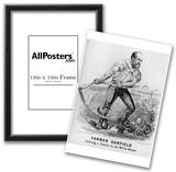 James A Garfield (Campaign Poster) Art Poster Print Prints