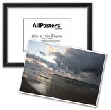 Kite Surfing (Sunset) Art Poster Print Prints