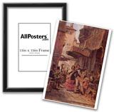 Carl Spitzweg (Italian street singers) Art Poster Print Prints