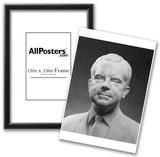 Bust of Richard Nixon (Black and White Photo) Art Poster Print Prints