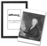 James Monroe (Portrait) Art Poster Print Posters