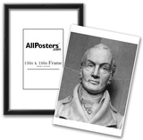 Bust of Aaron Burr (Black and White Photo) Art Poster Print Posters