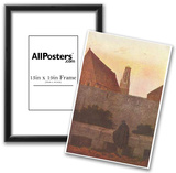 Caspar David Friedrich (On the wall) Art Poster Print Posters