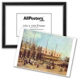Canaletto (II) (La Piazza San Marco) Art Poster Print Prints