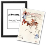 Paul Gauguin (Breton peasants with cattle and dog) Art Poster Print Prints