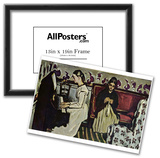 Paul Cezanne (Girls at the Piano) Art Poster Print Print