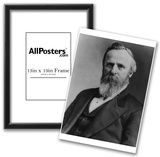 President Rutherford B. Hayes (Portrait) Art Poster Print Photo