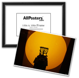 Menorah (In Front of Light) Art Poster Print Print