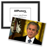 George W Bush (Crying) Art Poster Print Poster