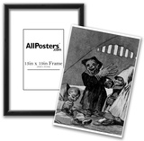 "Francisco de Goya y Lucientes (Follow the ""Caprichos,"" Sheet 49: Poltergeist) Art Poster Print Posters"