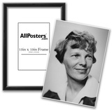 Amelia Earhart Archival Photo Poster Print Prints