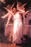 William Adolphe Bouguereau (L'Innocence) Art Poster Print Print