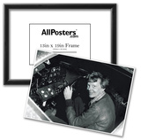 Amelia Earhart in Cockpit Archival Photo Poster Print Posters